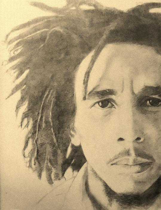 Bob Marley by sketch1961